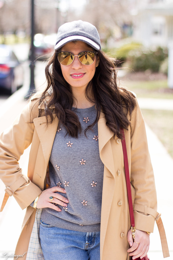 jeweled sweater, trench coat, ballcap-8.jpg