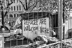 eviction...refugee-protest-camp berlin