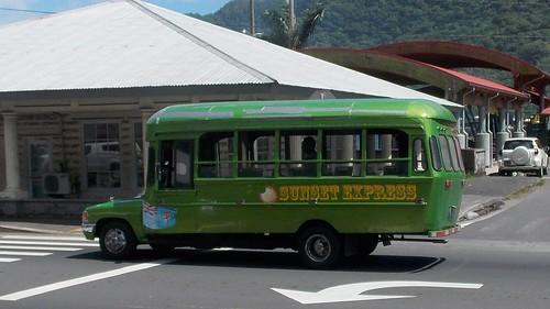 sunset bus victoria queen american samoa express local pago