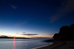 "muzzpix-nz posted a photo:	Facebook    | 500px  | Website Just to prove that the Tauranga entrance can be calm . You really have to make sure that your i-pod is charged up before you head of on these long exposures … won""t do that again !"