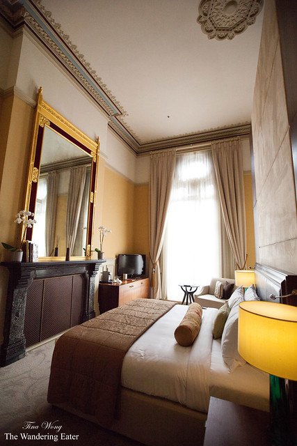 The bedroom of Sir George Gilbert Scott Suite
