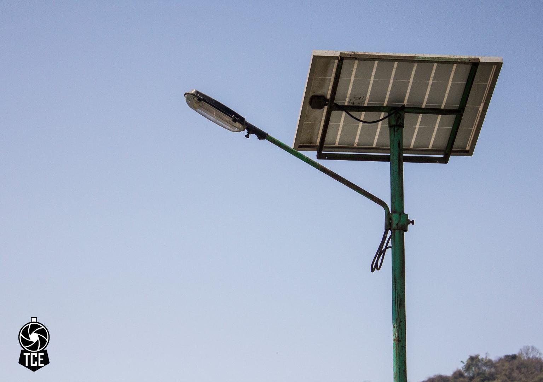 Solar panels at the Docks