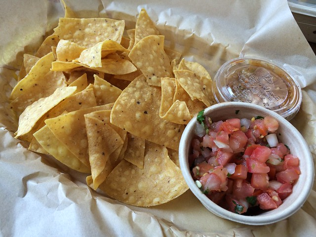 Chips and salsa - Uno Dos Tacos
