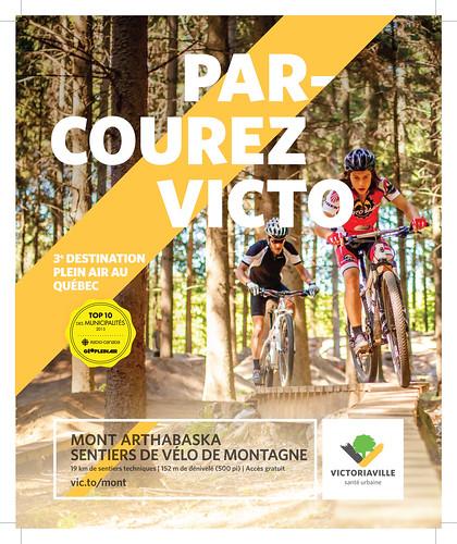 Victoriaville dans le top 3 des meilleures destinations plein air au Québec