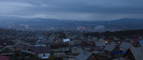 city sunset panorama storm rain photography cityscape russia rainy ulanude buryatia хот ariukamo улаанүд ulanud