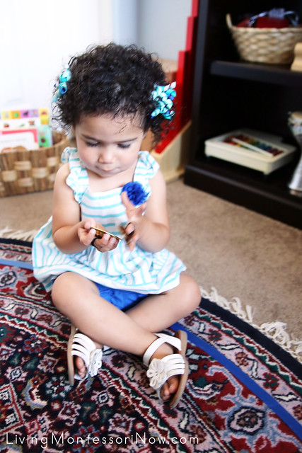 Learning to Use Finger Cymbals at 20 Months