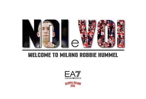 All'Olimpia arriva Robbie Hummel