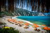 Petani beach, Kefalonia island, Greece by Lucian Bolca