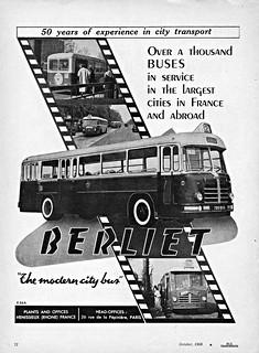 1957 Berliet Transit Bus (France)