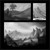 This week's value and composition studies
