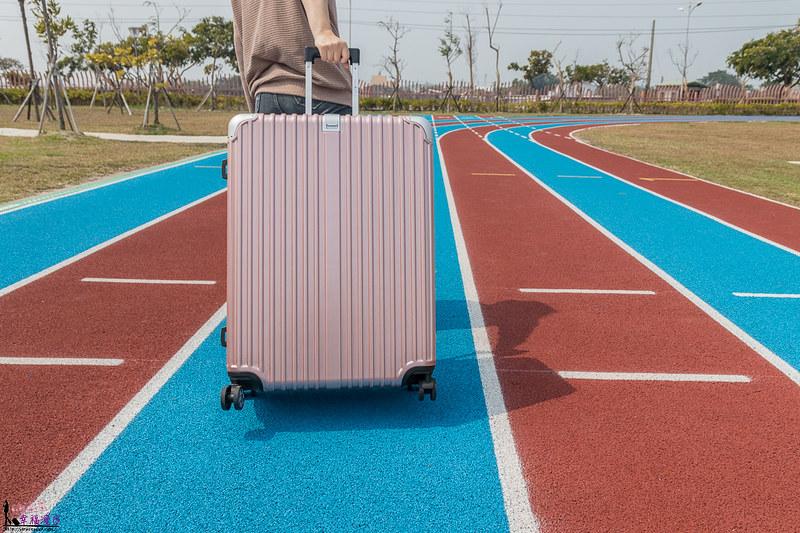 德國NaSaDen納莎登林德霍夫系列鋁框行李箱