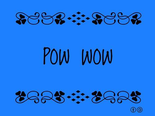 Buzzword Bingo: Pow Wow = Event where indigenous and non-indigenous people meet to dance, sing, socialize and honor indigenous culture @DeborahMcLaren