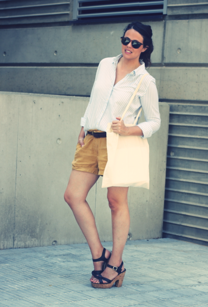 Look shorts + shirt - Monicositas