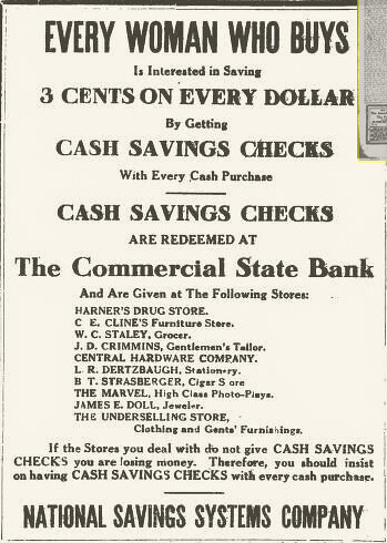 National Savings Systems ad
