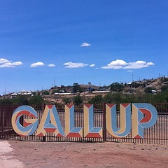 Gallup -- a verb AND a noun!  And kind of a sketchy town. ;) #gallup #newmexico #nofilter