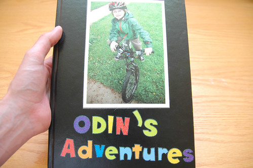 in a move that will surprise exactly nobody - odin is documenting his own adventures. I.