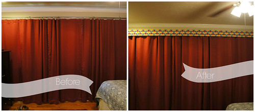 cornice before and after
