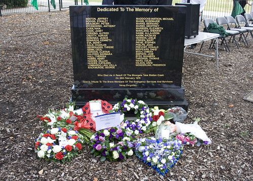 Moorgate Train Accident Memorial