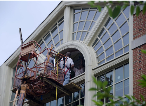 Replacing Atrium Windows