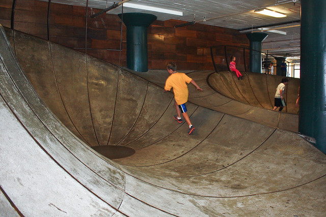 City Museum, St. Louis: skate ramp