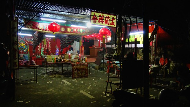 Hungry Ghost Festival - Chinese Temple