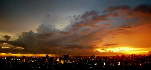 sunset cloud sun evening twilight nikonflickraward