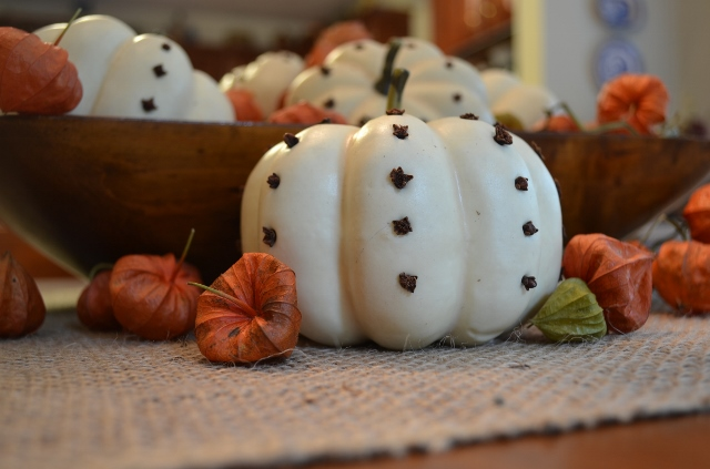 pomander pumpkins