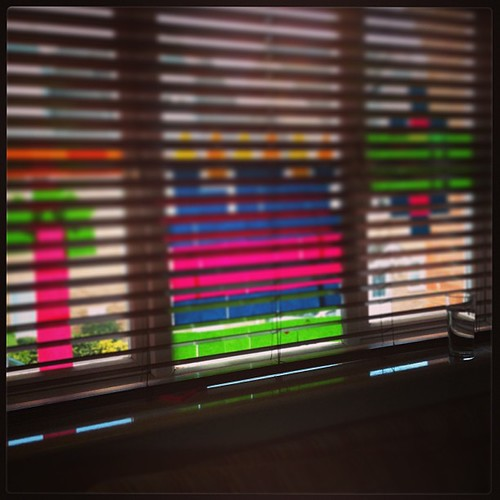 I'm rather liking our #postitnote window art #review