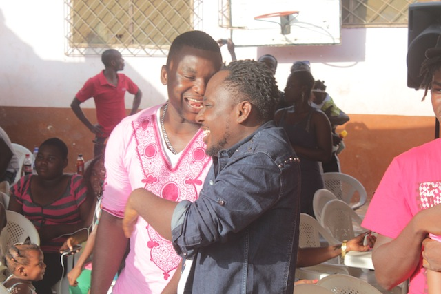 Mr & Mrs 'Praye Honeho' Baah donate to Save the Young
