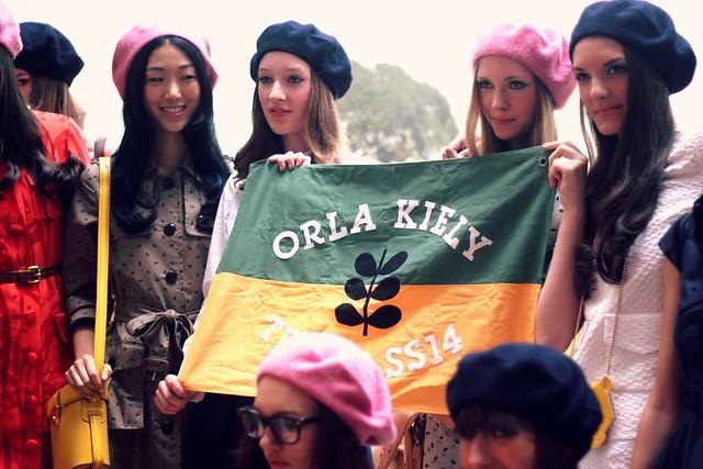 Orla Kiely SS14 Presentation