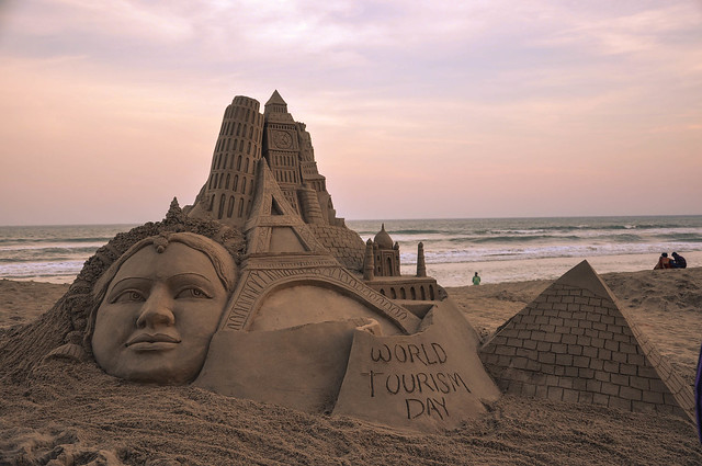 Sand Art World Tourism Day