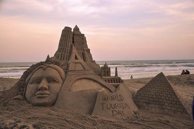 Sand Art World Tourism Day