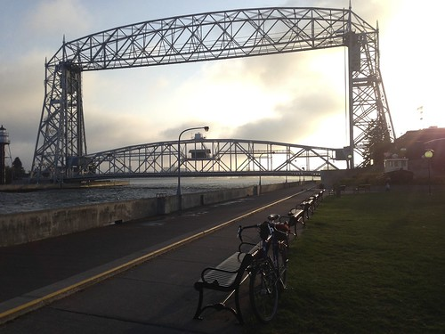 Lift Bridge by Northwoods Trekker