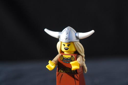 Lego Opera Singer