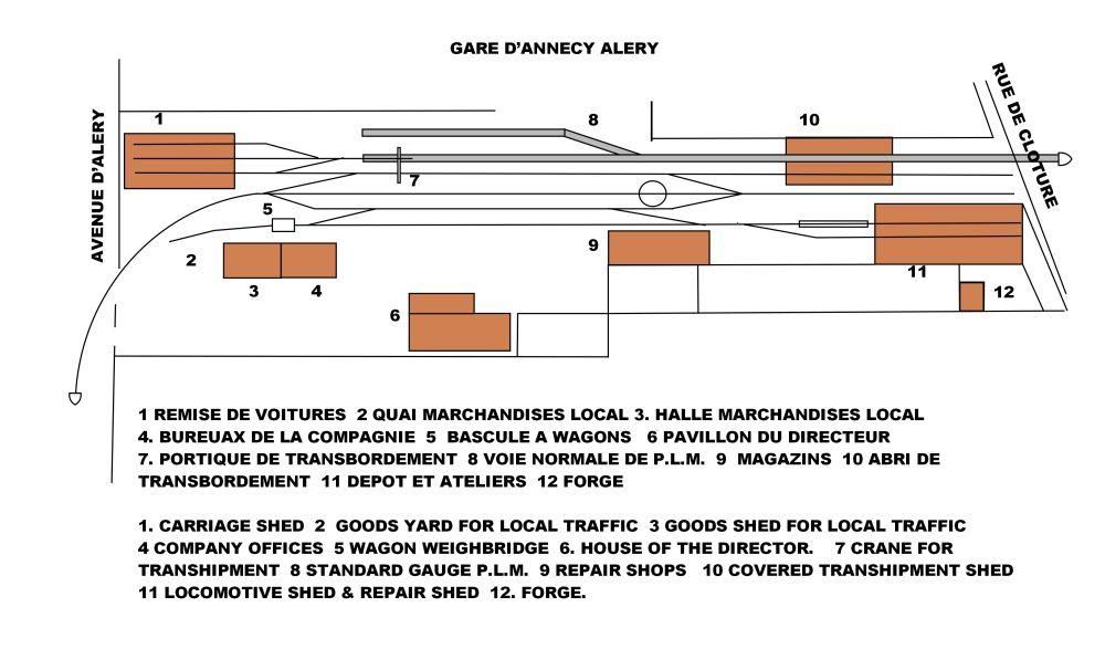 annecy depot plan