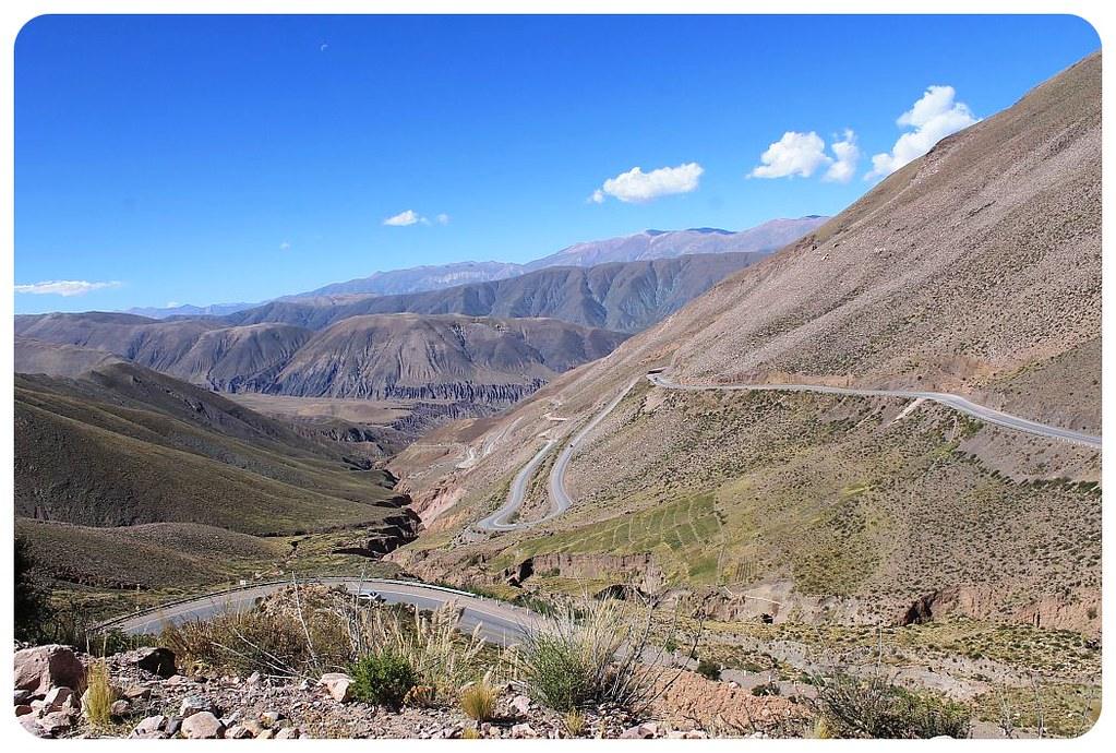 quebrada de humahuaca andes mountain road