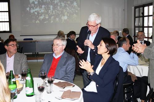 De Girolamo, Lupi e Sala con i soci della Fondazione