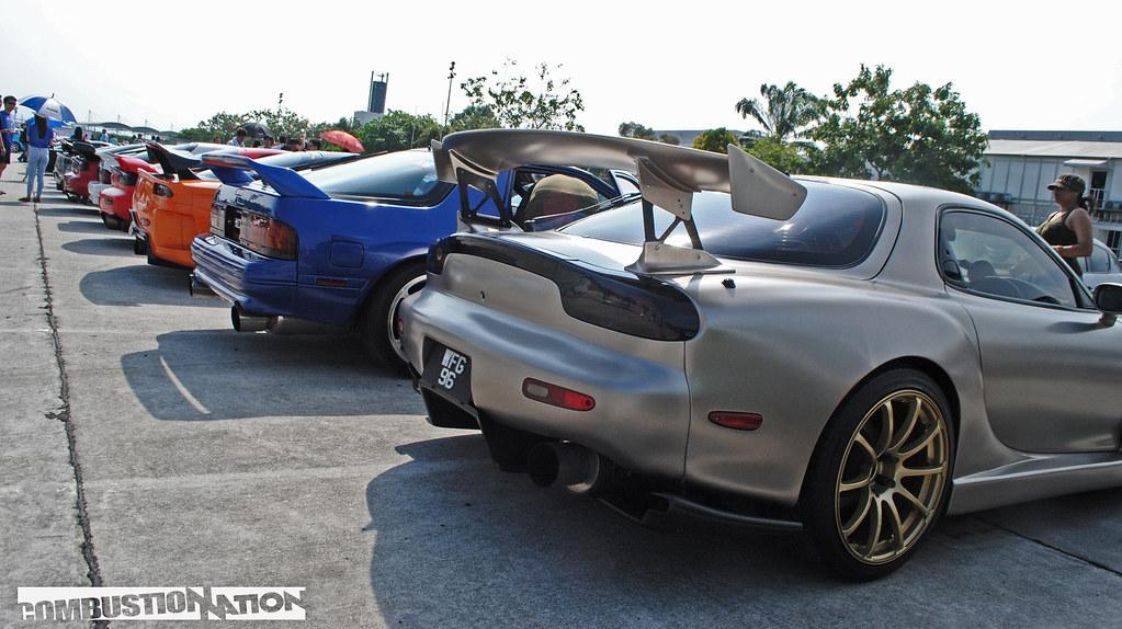 Mazda meet line up 2