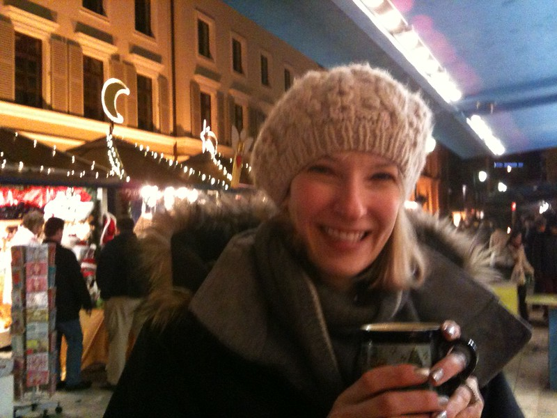 Our first Wiesbaden Christmas at the Sternschnuppenmarkt in 2009