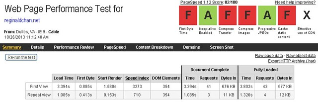 How fast is WP Engine web hosting