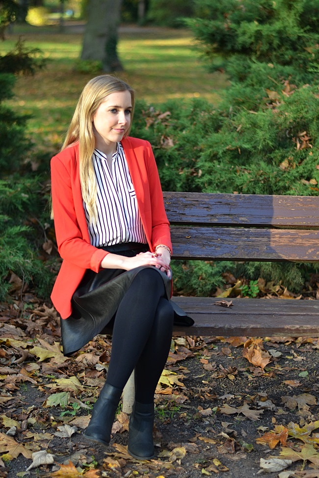 Outfit der rote Blazer (5)