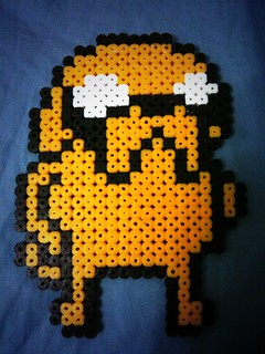 Adventure Time hama bead - Jake the Dog