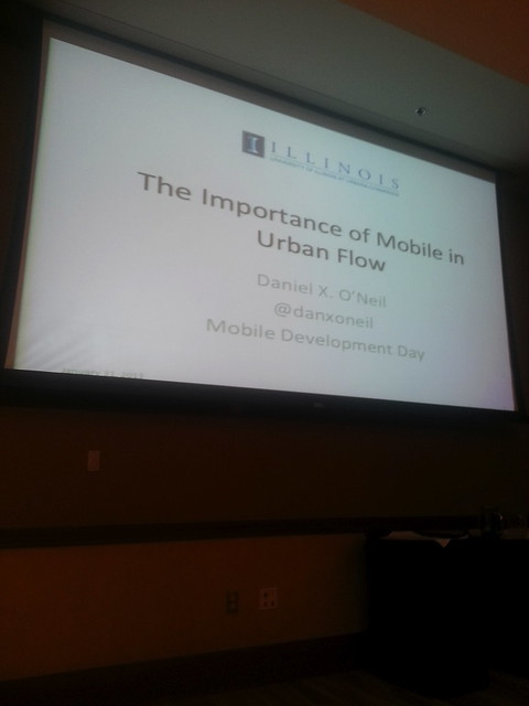 Mobile Dev Day: The Importance of Mobile in Urban Flow