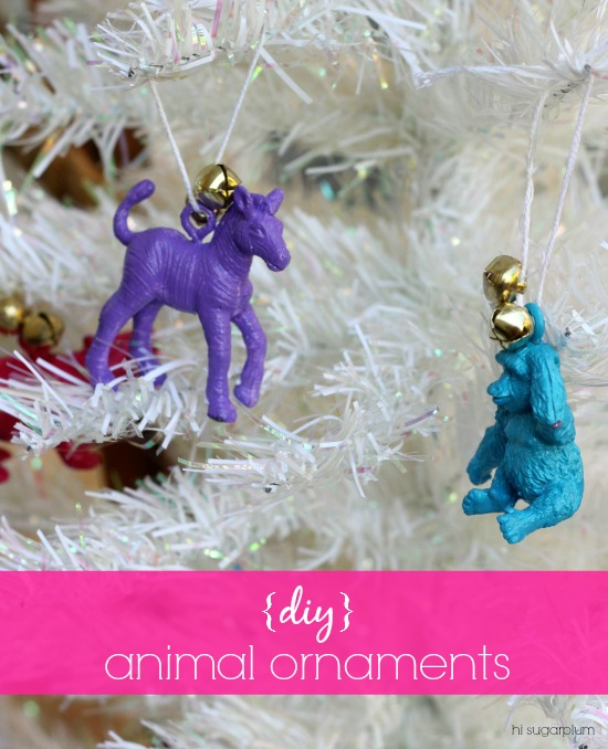 Hi Sugarplum | DIY Animal Ornaments