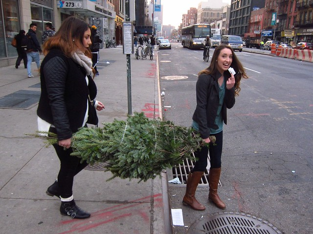 NYC Christmas Trees 2013: Bowery