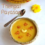 coconut kheer / thengai payasam