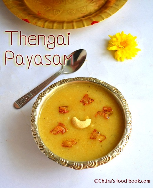 Coconut payasam