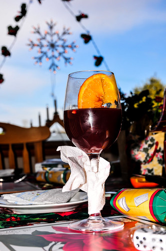 Mulled Wine and Blue Skies!