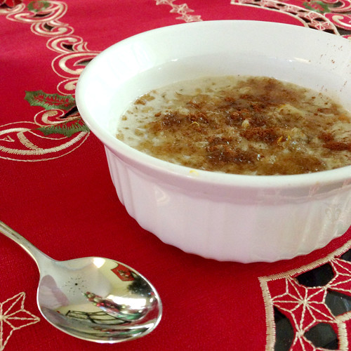 Orange cinnamon oatmeal