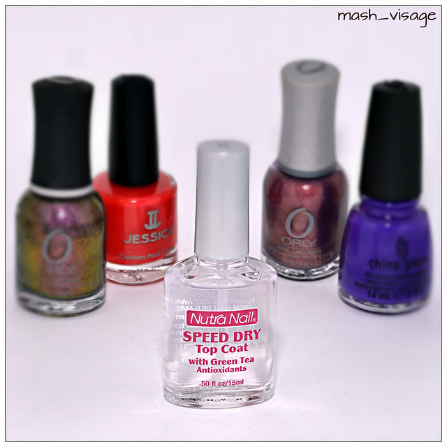 Nutra Nail, Speed Dry, 30 Second Top Coat